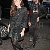 Nikki Reed with Paul McDonald at The Today Show.