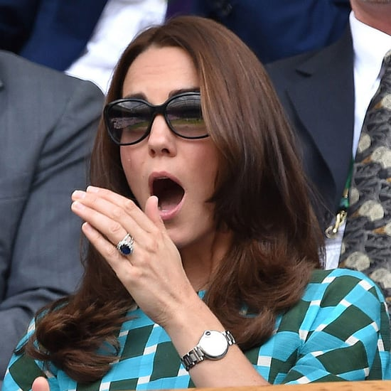 Kate Middleton and Prince William Attend Wimbledon 2014