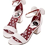 Minnie Mouse Heels in White ($48)