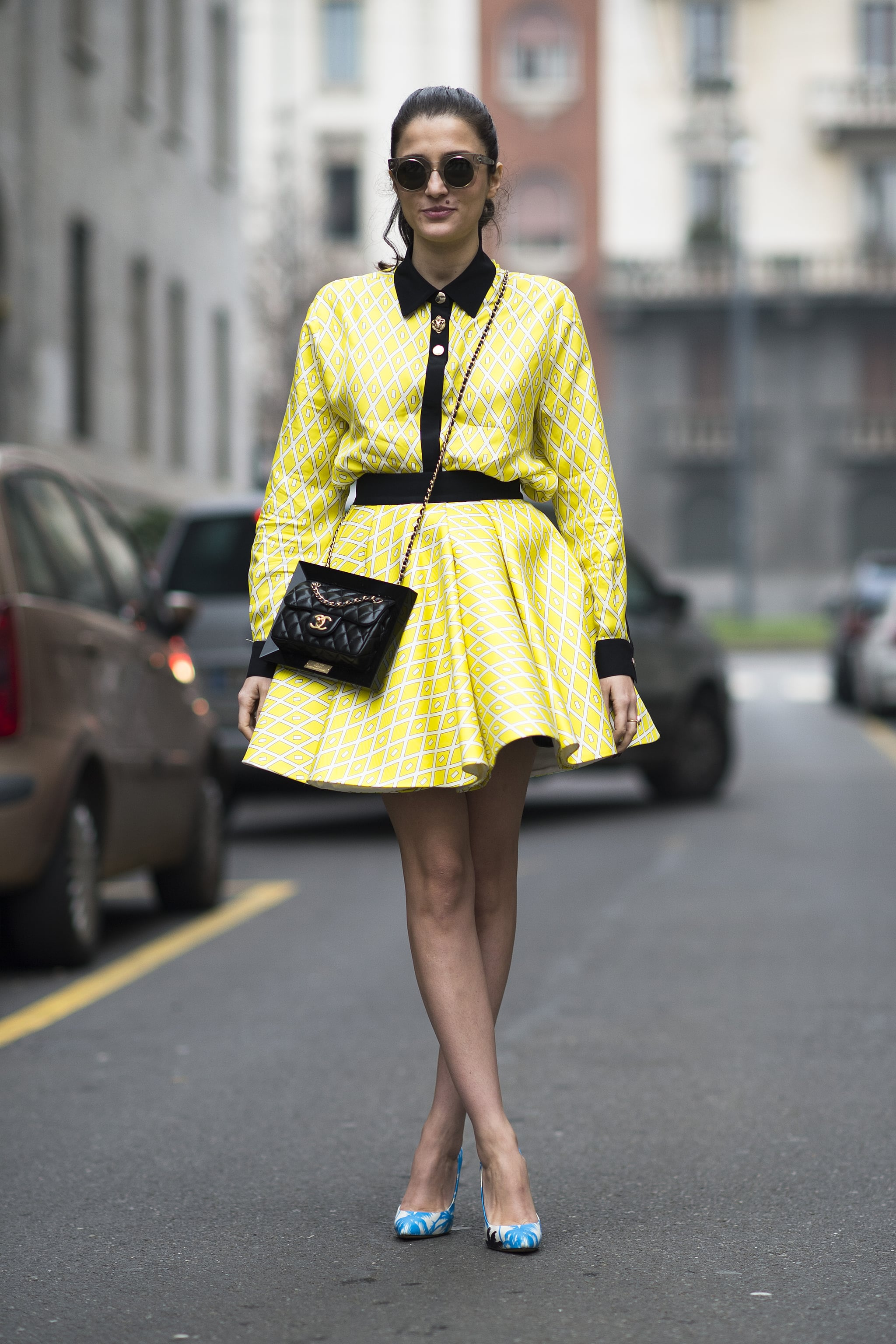This dress can flirt.  Source: Le 21ème | Adam Katz Sinding