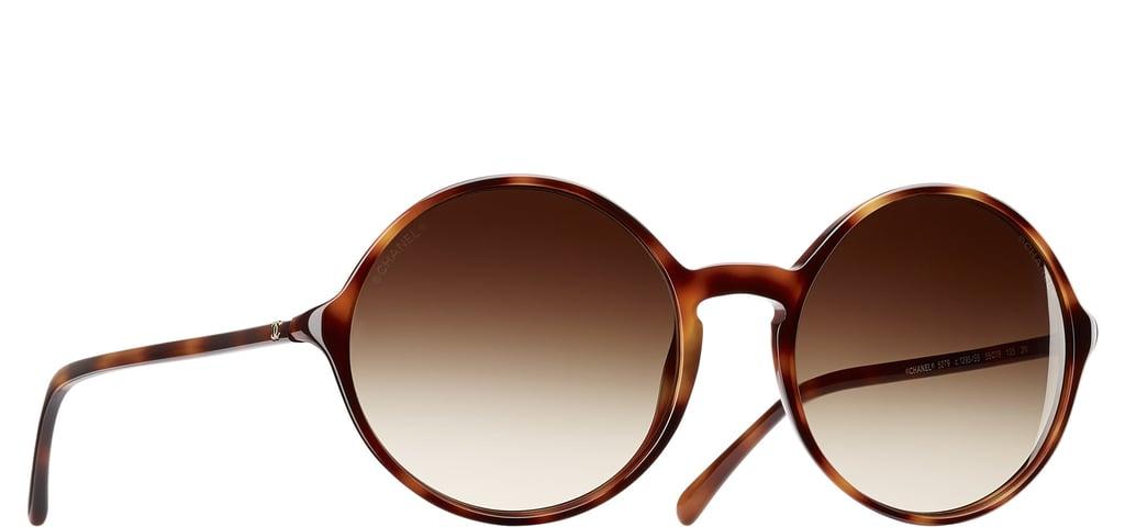 Chanel Round Signature Sunglasses ($340)