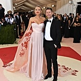 Blake Lively Burberry Dress at Met Gala 2016