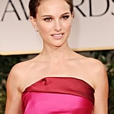 Natalie Portman on the red carpet at the 2012 Golden Globe Awards.