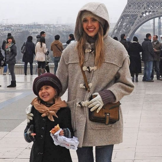 Jessica Alba and Honor Warren Visit the Eiffel Tour