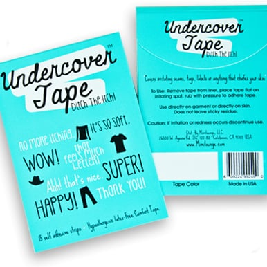 Tape to Eliminate Scratchy Kids Clothing