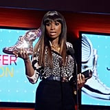 Jennifer Hudson took to the stage at the 2013 Do Something Awards on August 1.