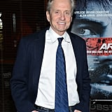 Michael Douglas was out in NYC for Ben Affleck's new film Argo.