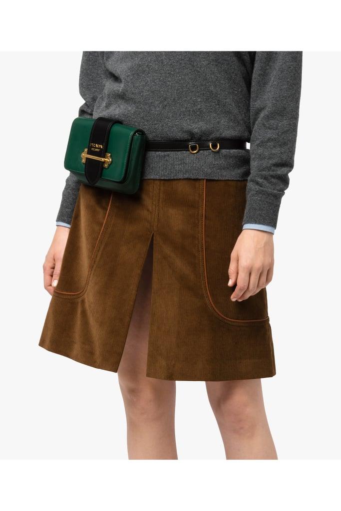 6902e0a5 Prada Cahier Belt Bag | Best Fanny Packs 2018 | POPSUGAR Fashion Photo 7