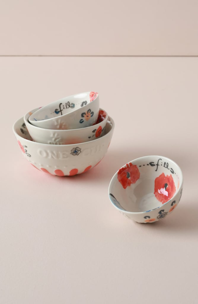 Anthropologie Home Daily Bakeware Set of 4 Measuring Cups
