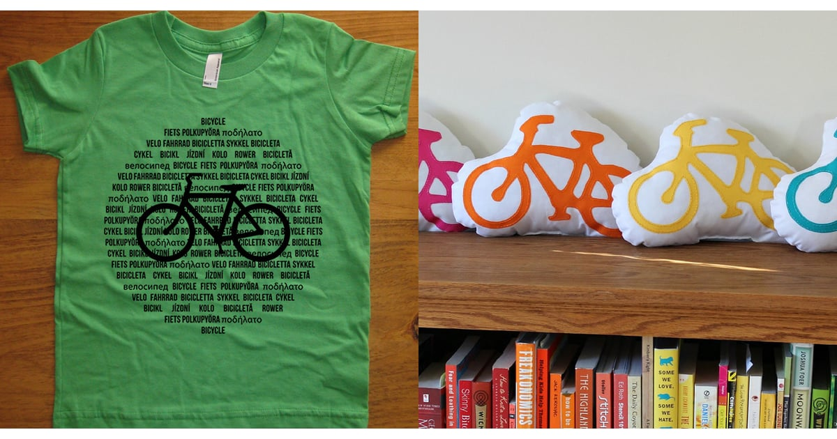 Bicycle Themed Clothing And Decor For Kids Popsugar Moms