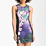 We love the sporty chic take on this floral photo-print dress. Just pair it with sleek black ankle strap sandals, and you're ready for the next Summer rooftop soiree.  Remain Photo-Print Tank Dress ($88)