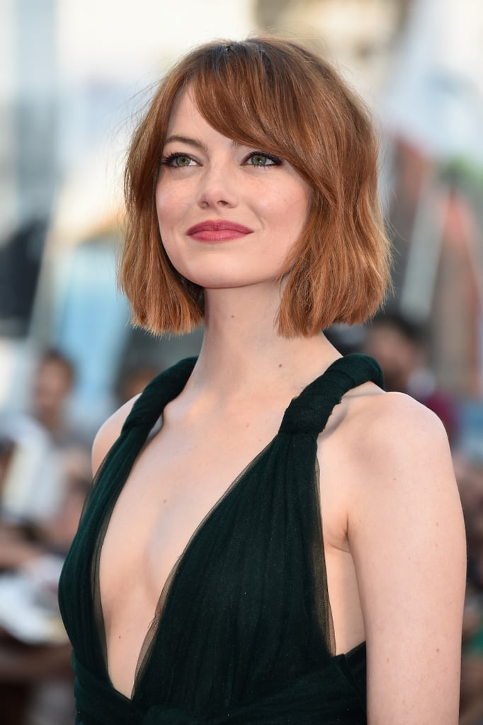 Emma Stone's Lob From the Front