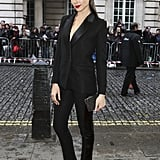 When She Opted For This Borrowed-From-the-Boys Tailored Suit