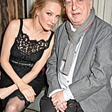 Uma Thurman held court with Stephen Frears.