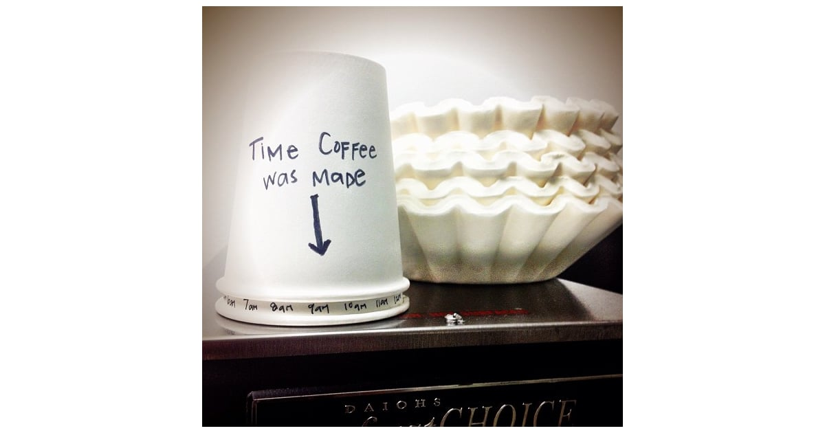 Create a Cup Clock | Life Hacks From Instagram | POPSUGAR ... C Cup Example