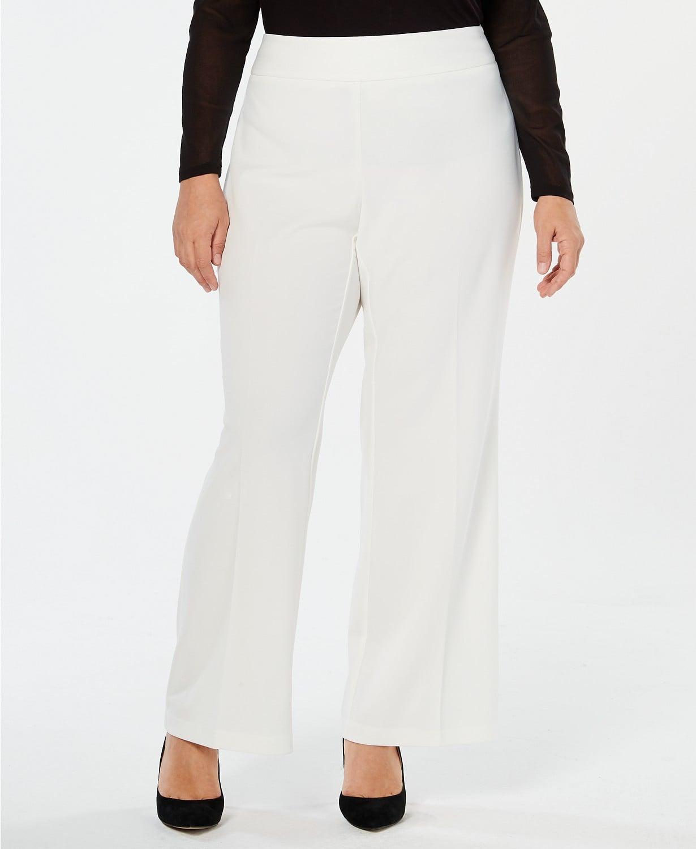 Macy\'s I.N.C. Plus Size Wide-Leg Pants | Jennifer Lopez Just ...