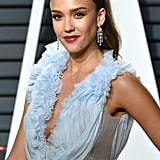 Jessica Alba's Afterparty Dress Is Feminine and Floral — With a Sexy Twist