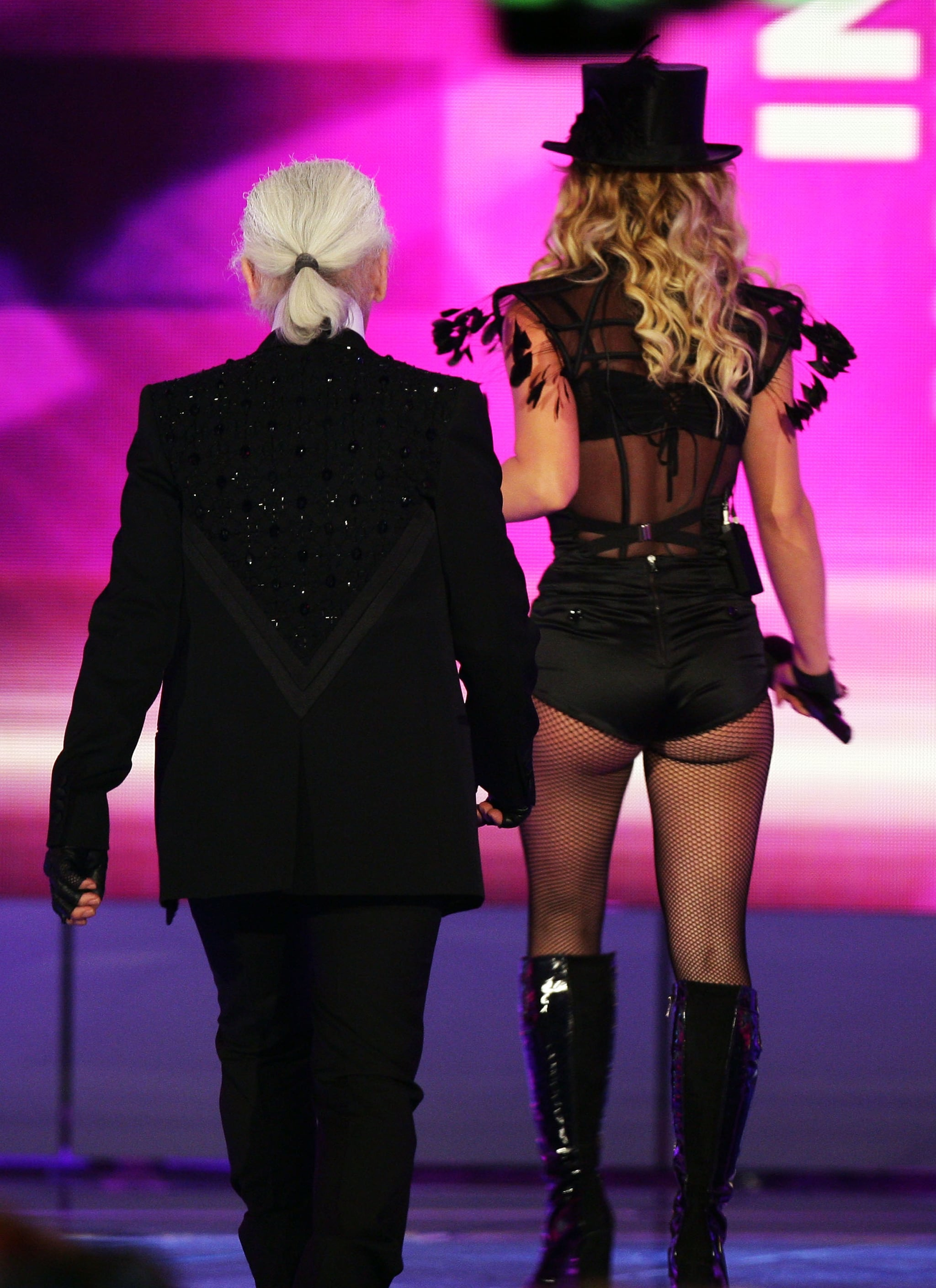Britney Spears at the 2008 Bambi Awards