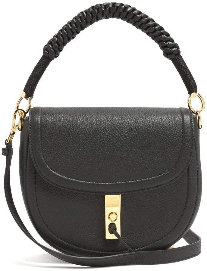 Meghan's Altuzarra Ghianda Bag in Black Leather