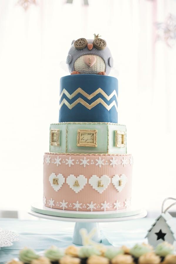 Cozy Owl Cake Girls Birthday Cakes POPSUGAR Moms Photo 50