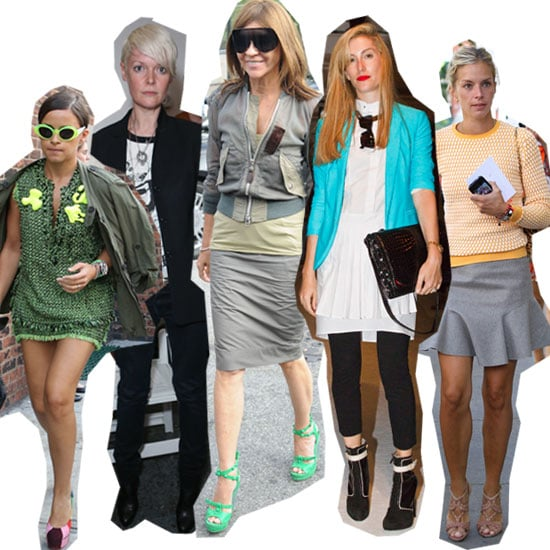 What the Fashion Editors Wear to New York Fashion Week: Stalk Their Front Row Style!