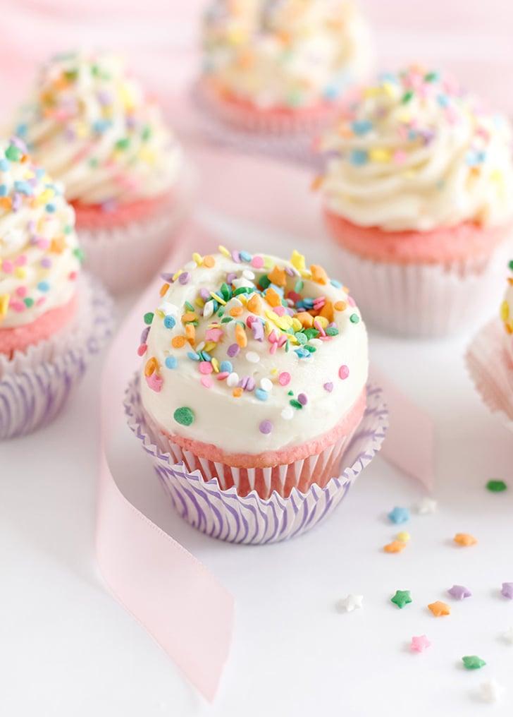 Large-Batch Strawberry Cupcakes
