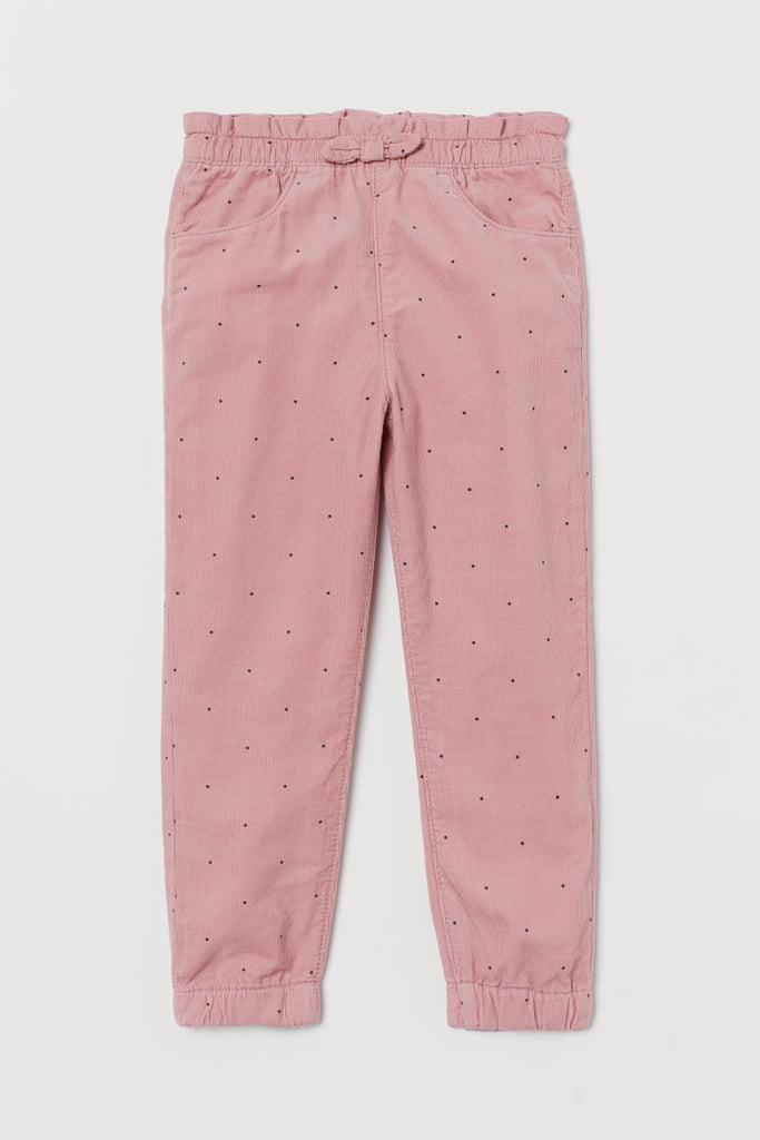 Pull-on Corduroy Pants