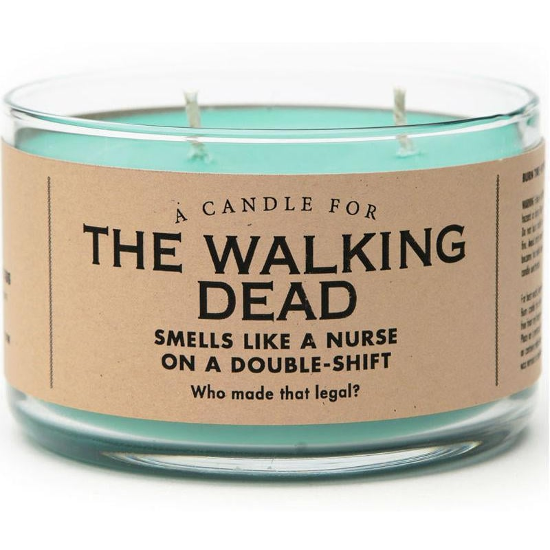 "This Double Shift ""Walking Dead"" Candle Is Made For Nurses"