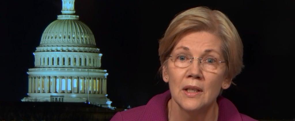 Elizabeth Warren on The Daily Show February 2017