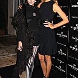 Daphne Guinness and Karolína Kurková