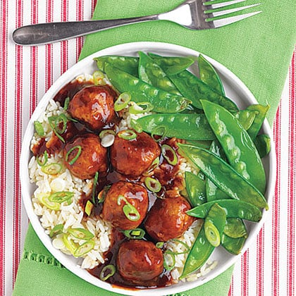 Tangy Asian Meatballs
