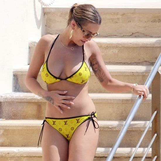 Rita Ora in a Bikini in Cannes May 2017