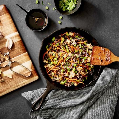 Dinner: Quinoa Veggie Stir-Fry