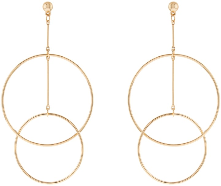 Accessorize Circus Hoop Statement Earrings