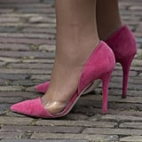 Even Her Shoes Were Pink!
