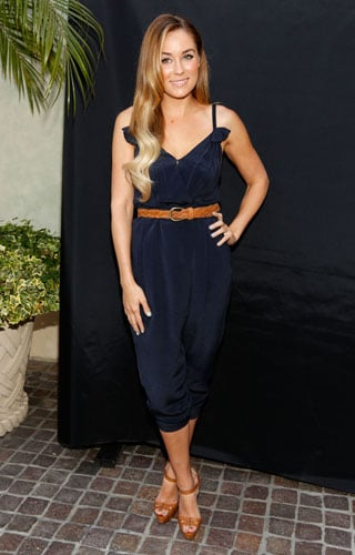 Lauren Conrad in Phillip Lim Navy Jumpsuit