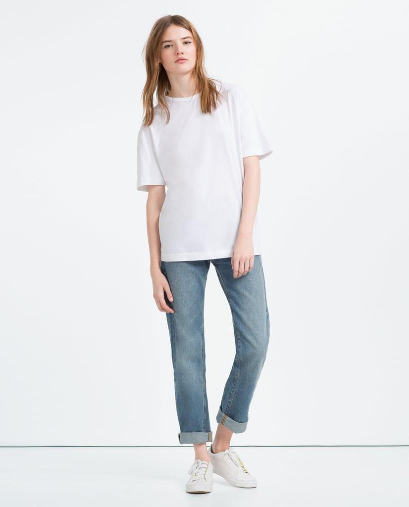 7903d937 Flowing Unisex T-Shirt ($16)   Zara Launches Genderless Clothes ...