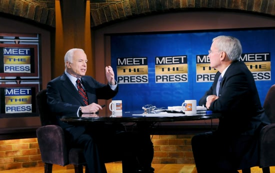 John McCain on Meet the Press