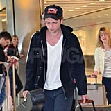 Robert Pattinson wore a Baltimore Orioles hat.