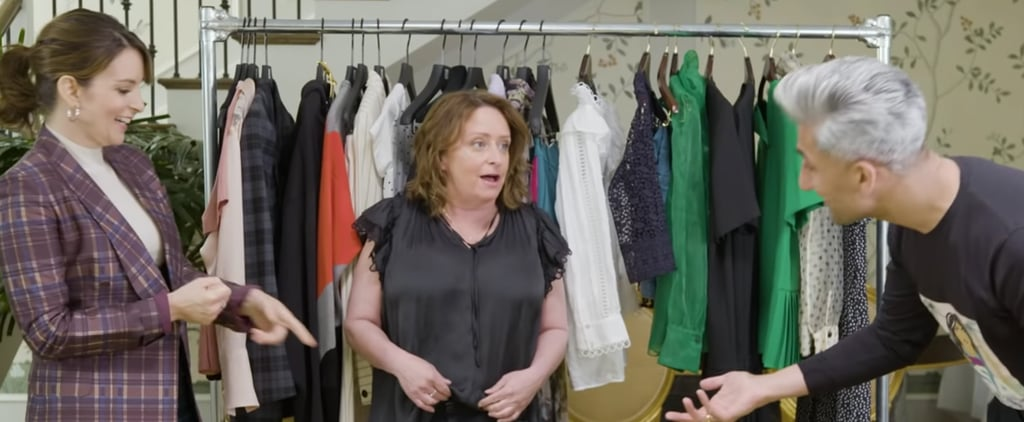 Tan France, Tina Fey, and Rachel Dratch Dressing Funny Video