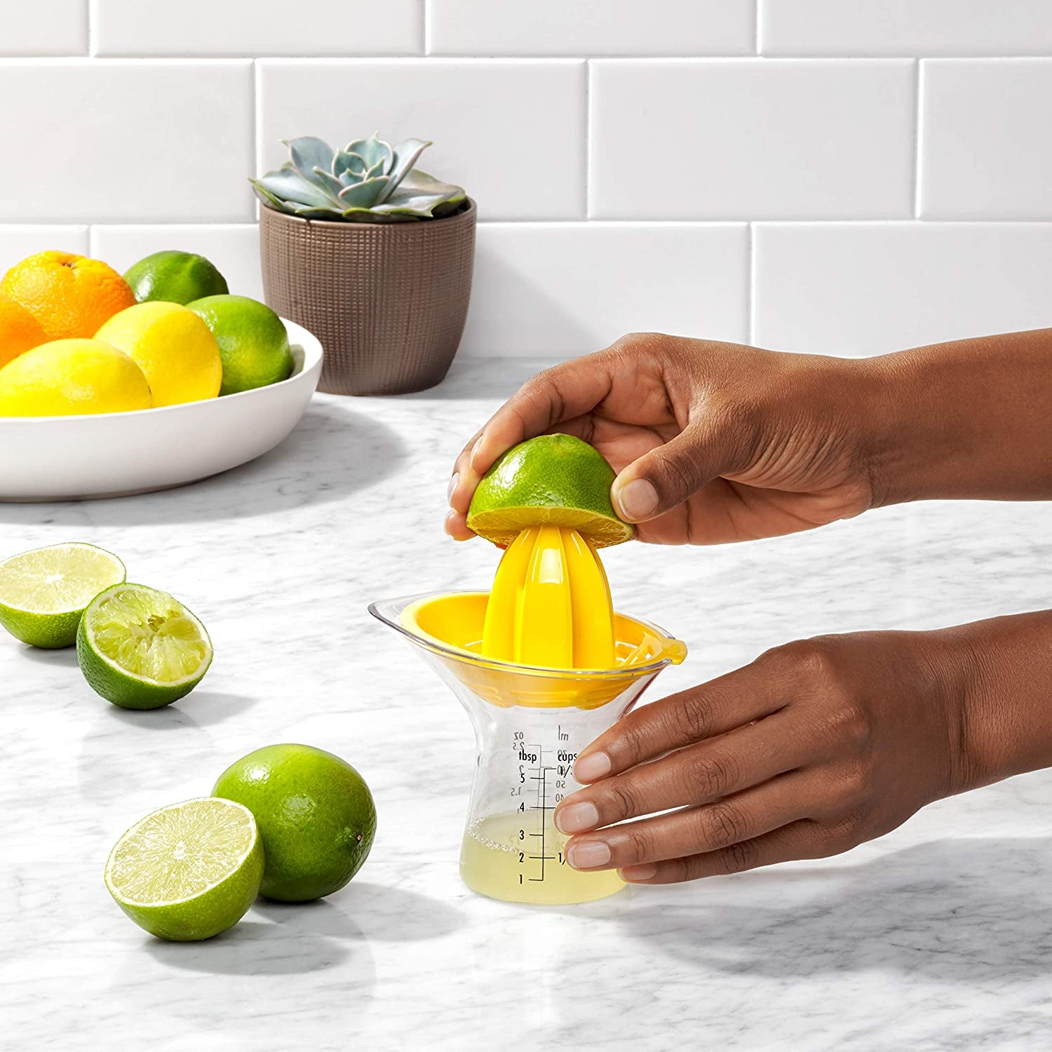 OXO Citrus Juicer with Built In