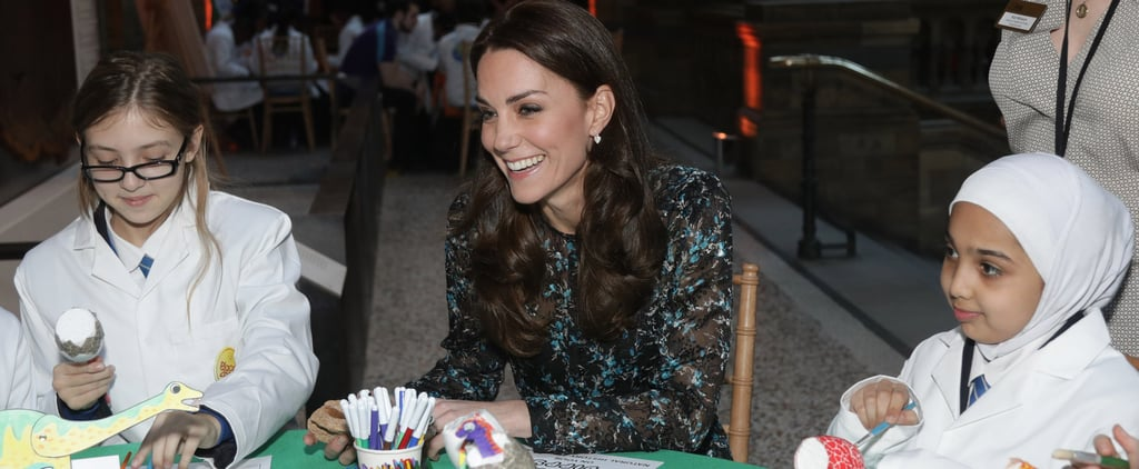 Kate Middleton Is All Smiles While Painting Dinosaur Eggs With Adorable Students