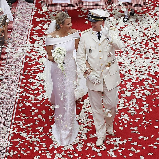 Prince Albert and Princess Charlene of Monaco tied the knot on July 2011 in Monaco.