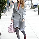 Jessica Biel Dresses Up During Her Birthday Weekend