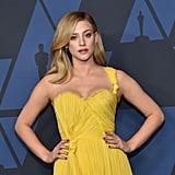 Lili Reinhart's Yellow Oscar de la Renta Gown