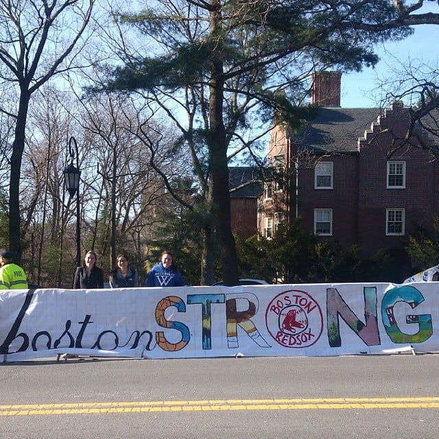 #BostonStrong(er) Than Ever! Motivational Posters From Today's Marathon
