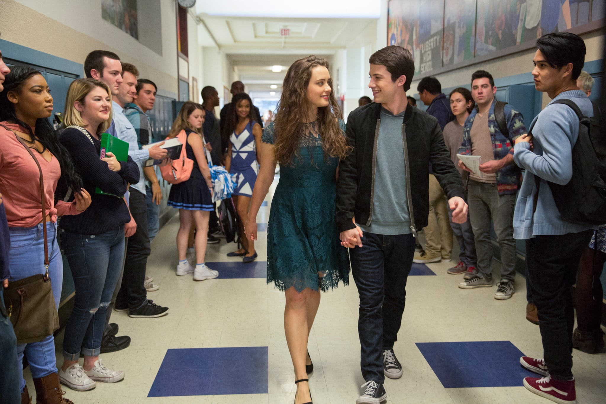 13 REASONS WHY, (aka THIRTEEN REASONS WHY), Katherine Langford, Dylan Minnette in 'Tape 6, Side A', (Season 1, Episode 111, aired March 31, 2017), ph: Beth Dubber / Netflix / courtesy Everett Collection