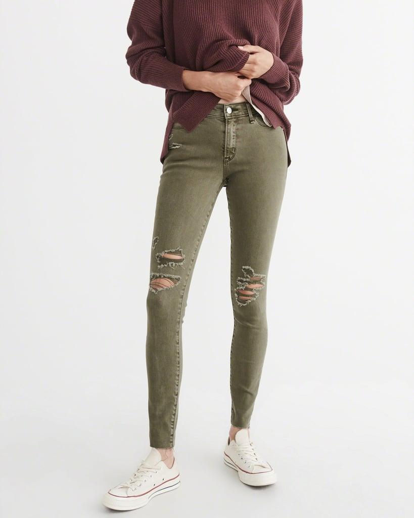 Low-Rise Super Skinny Jeans Harper ($49, originally $88)