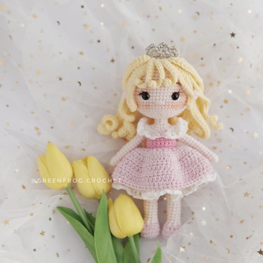 Disney Princess Doll Crochet Pattern — Aurora