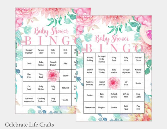 Baby shower bingo baby shower games popsugar uk parenting photo 3 baby shower bingo solutioingenieria Gallery